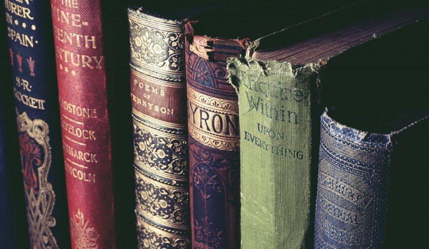 antique art bookcase 1301585